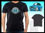 KOOLART BACK IN THE DAY Slogan Design for Retro Mk1 Ford Escort RS Mexico mens or ladyfit t-shirt